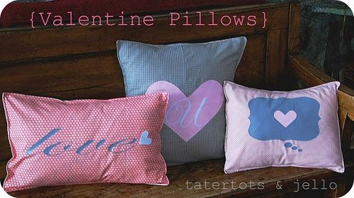 Vday Pillows