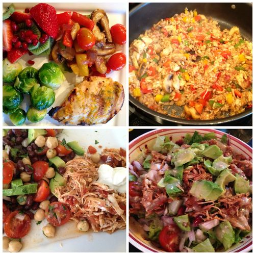 Clean Eating Collage