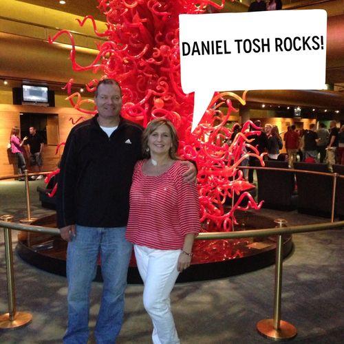 Ali}: {3 Weeks ... Daniel Tosh Family