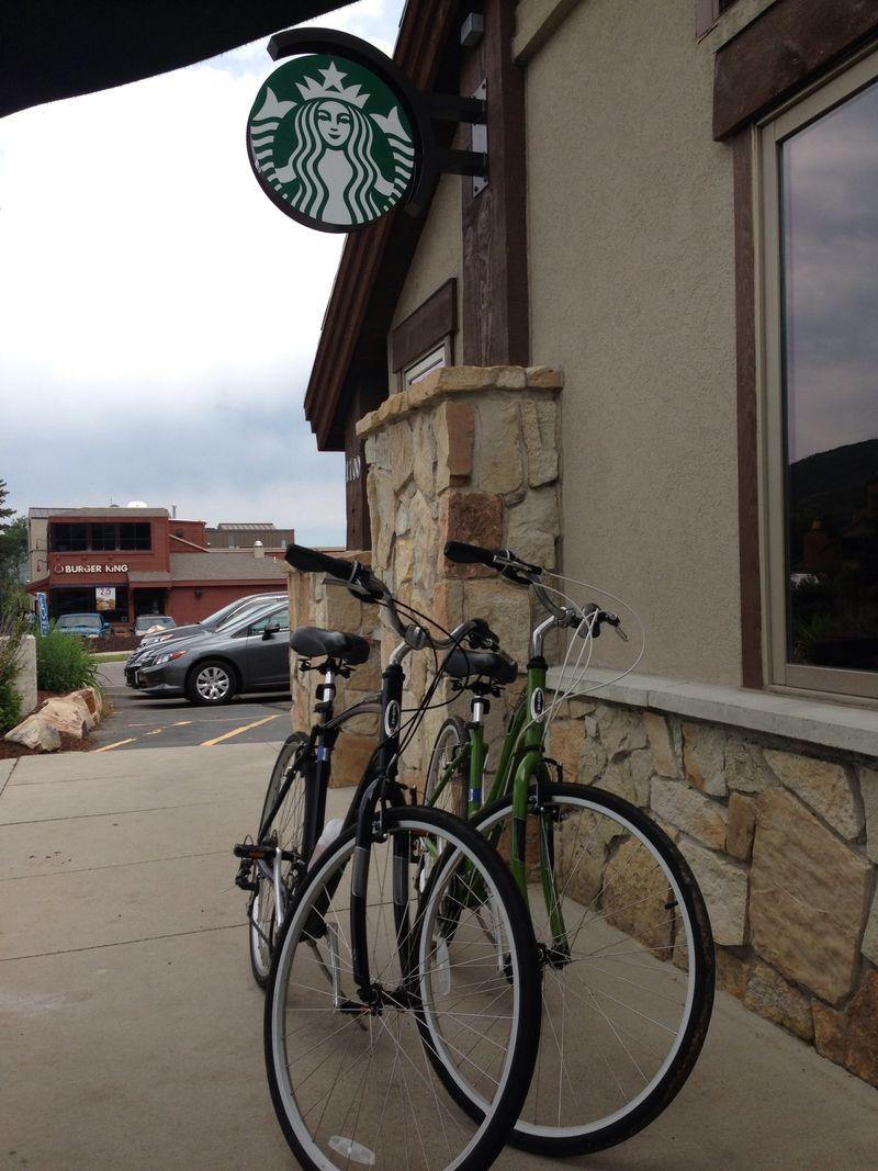 Starbucks Bikes