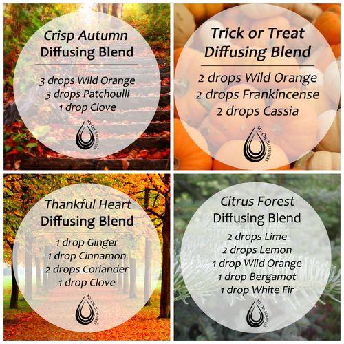 Fall Diffusing Blends